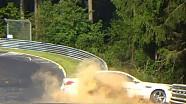 Crash Ring Taxi BMW M5 F10 Nordschleife Touristenfahrten 2014