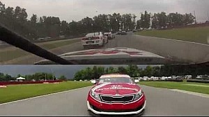 PWC 2014 Mid-Ohio On Board Highlights of Alec Udell Round 11