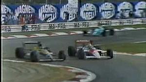 1988 F1 Monza Senna Schlesser collision