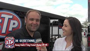 World of Outlaws STP Sprint Car Series 10 Questions with Donny Schatz