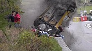 Major crash at Jolly Rally Valle d'Aosta 2014