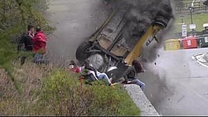 Major crash at Jolly Rally Valle d'Aosta 2014