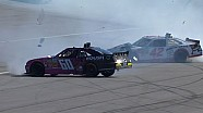 Larson, Buescher involved in Lap 89 crash