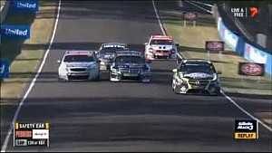 Holdsworth flips at Bathurst