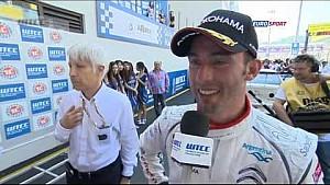 FIA WTCC - Pechito Lopez won round 23 - Macau 2014
