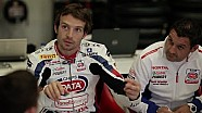 Sylvain Guintoli - first test Honda CBR1000RR Fireblade SP