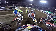 Ken Roczen helmet cam Main Event 2015 Supercross from Oakland