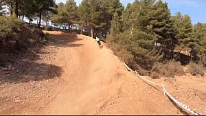 Jeffrey Herlings in Spain preparing for the 2015 MXGP