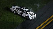 Keselowski hits the wall
