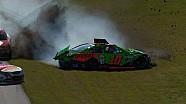 Danica Patrick choca en la práctica del Daytona 500