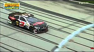 2015 Atlanta NASCAR Cup - Austin Dillon goes mudding