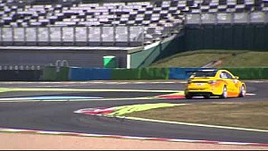 Discover the new Lada Vesta on the track