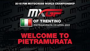 Welcome to MXGP of Trentino 2015