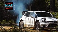 Тесты VW Motorsport. Поломка двигателя на автомобиле Латвалы. Май 2015