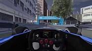 Monaco ePrix circuit - a virtual lap