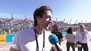 Long Beach ePrix - Adrien Brody grid interview