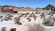 Baja 500 - Robby Gordon strikes spectator