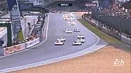 Le départ des 24h du Mans 2015