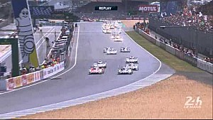 Replay of 24 Heures du Mans Race Start