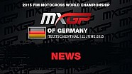 MXGP de Alemania MXGP Race Highlights 2015 - motocross