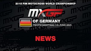 MXGP of Germany MXGP Race Highlights 2015 - motocross
