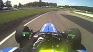 Juan Piedrahita crash at Canadian Tire Motorsport Park