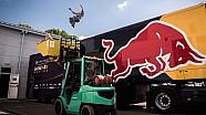 Du Parkour à l'usine Red Bull