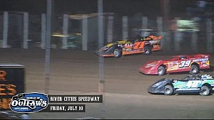 Highlights: Late Model Series River Cities Speedway July 10th, 2015
