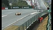 Crash WSR de Sebastian Vettel dans Eau Rouge, à Spa
