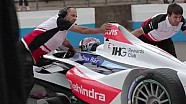 Formula E - Behind the scenes at Donington testing