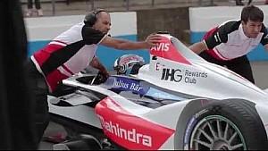 Formula E - Behind the scenes at Donington testing