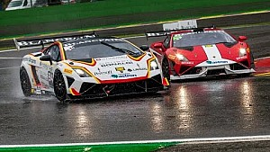 Racing in the rain at Spa