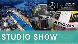 Singapore GP 2015: F1 visors explained + driver training FAIL!   STUDIO SHOW