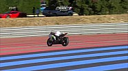 Bol d'Or 2015 19th hour: a bike goes 25 seconds without a rider before going down
