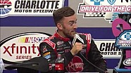 Austin Dillon press conference at Charlotte