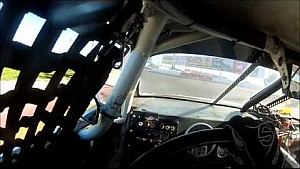 First person view of K&N test at Meridian Speedway
