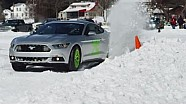 Mustang Goes Ice Racing with Vaughn Gittin Jr. | All Snow No Joke