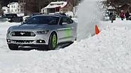 Mustang Goes Ice Racing with Vaughn Gittin Jr. | All Snow No Joke