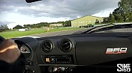 Drifting in a Lotus Exige V6 360 Cup with Gavan Kershaw at Hethel