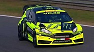 Monza Rally Show - Le shakedown de Rossi