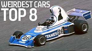8 Weirdest Racing Cars In History?