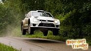 Volkswagen Polo R WRC Rally Finland pre-test 2015 (Latvala)