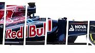 Une vue à 360° des 10 Formule 1 Toro Rosso!