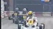 Ayrton Senna face à Alain Prost en karting en 1993