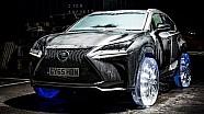 Lexus on Ice: des roues de glace pour la NX