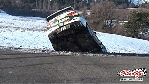Rally Monte Carlo crashes, mistakes and maximum attack