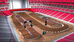 Virtual Lap - Glendale 2016 Monster Energy Supercross rd 5