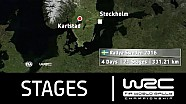 WRC Rally Sweden 2016: The Stages