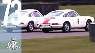 Drifting like a pro in a 1965 Porsche 911