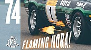 Flaming Nora! Chevys, Mustangs and GT40s spit flames
